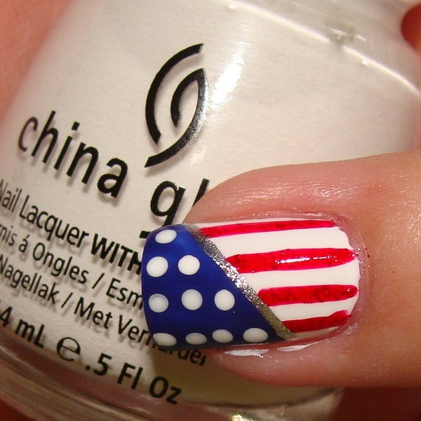 patriotic: 4Th Of July Nails, Fourth Of July, Nails Nails Nails, Nails Ideas, July 4Th, Patriotic Nails, Flags Nails, Country Thunder, Patriots Nails