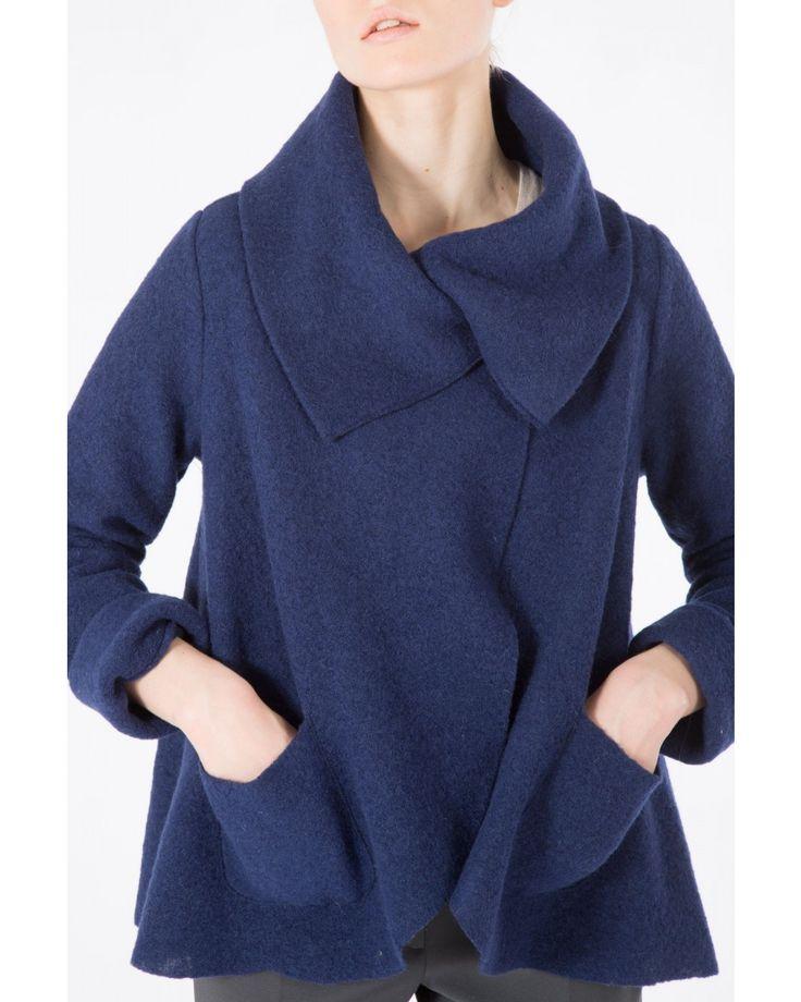 Giacca in lana cotta - Trench & Cappotti