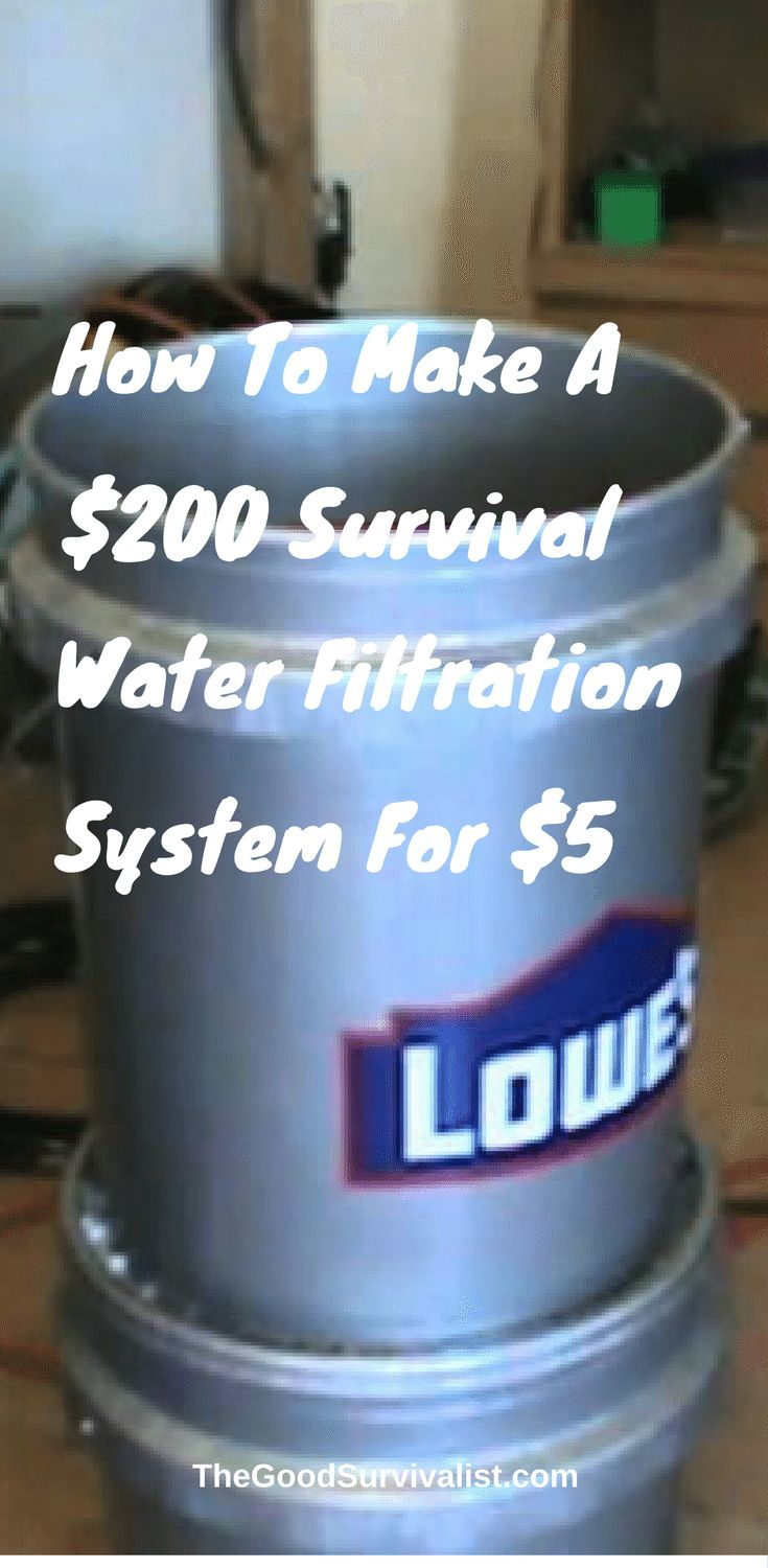 This video shows how to make and use the home made Berkey type water filtration system. This one is made for less than $35 in parts and you will see that it will turn the nastiest of Oklahoma water in to clean SAFE drinking water in a reasonable amount of time.