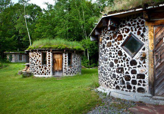 Глиночурка — технология строительства дома из дров и глины   Kelot