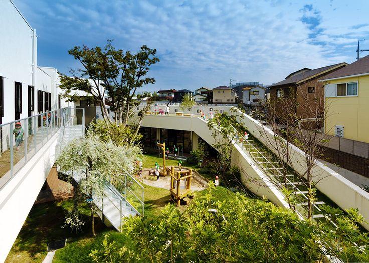 Jardim de Infância e Creche KM / HIBINOSEKKEI + Youji no Shiro