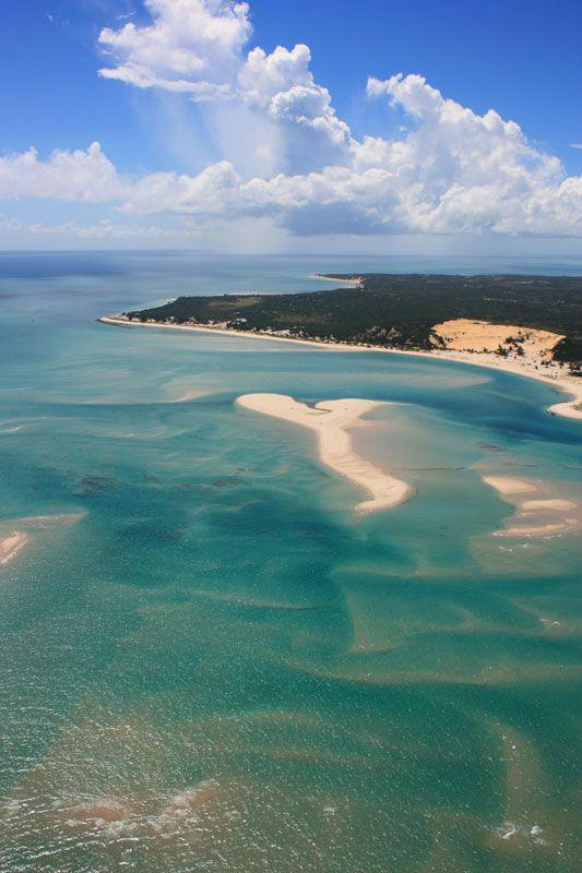 Benguerra Island and turqoise seas,  Mozambique