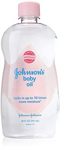 Johnson and Johnson Baby Oil, 20 Ounce