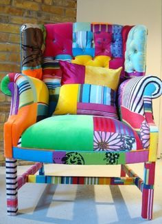 The Peebles Wing - squint ltd;  I love this chair, too - and it will perfectly match the other one!