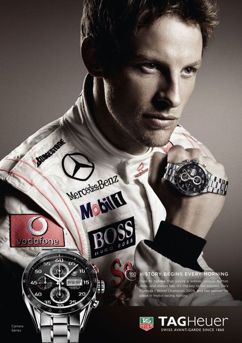 TAG Heuer Jenson Button Carrera Cal 16 Day Date