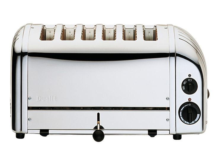 Polished 6 Slice Toaster | Large, 6 Slot Vario Toasters From Dualit