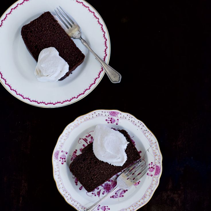 This low-sugar chocolate loaf cake is richly flavored and deliciously moist. Get the recipe at Food & Wine.