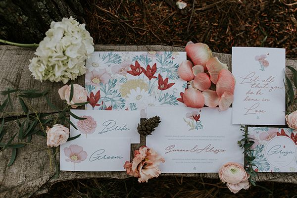 Photo by Intimate Love Memories - Organised and designed by Belli Momenti Weddings - Furniture and from bellimomenti.gr - Flowers by Leonidas Rammos -Stationery by Love Me Do!