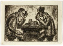 Morris Topchevsky (American, born Poland, 1899-1947) published by the Works Progress Administration, Lunch Hour