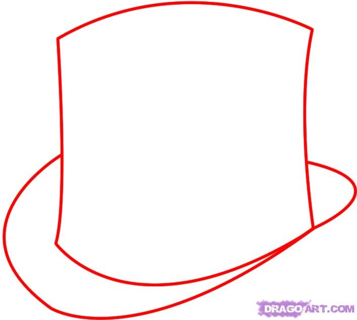 how-to-draw-a-hat-step-1.jpg (707×634)