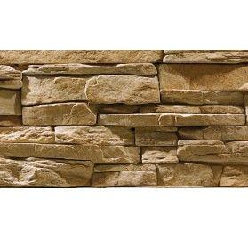 Stenvägg Vermont Sahara - 0,5 m2