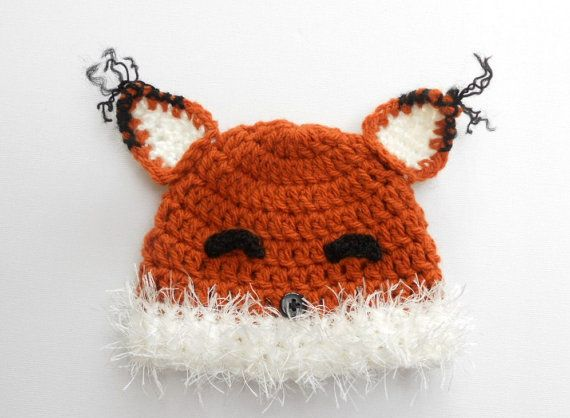 Hey, I found this really awesome Etsy listing at https://www.etsy.com/listing/185499270/crochet-fox-hat-baby-fox-hat-fox-beanie