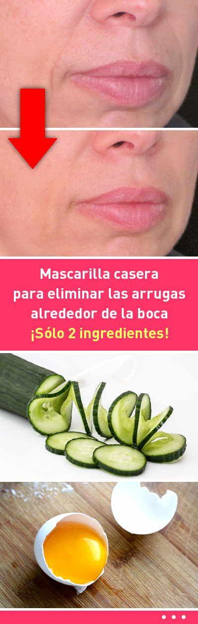 Mascarilla casera para eliminar las arrugas alrededor de la boca. ¡Sólo 2 ingredientes!