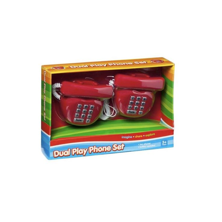 dual Play Phone Set role Play 0801t017