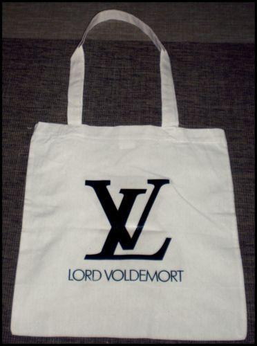Lord Voldemort LV Jutebeutel Harry Potter Hipster Blogger Tasche | eBay