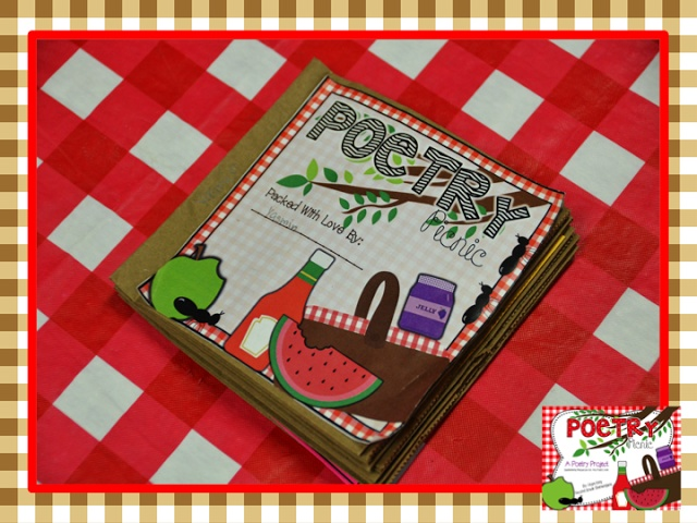 Poetry...Picnic Style!!! Perfect for April's National Poetry Month!