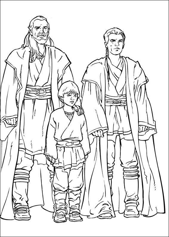 Star Wars Tegninger til Farvelægning 25