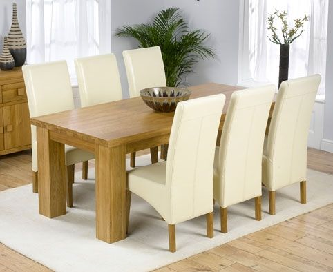 21 Best Images About Cream Leather Dining Chairs On