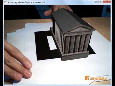 Arquitectura romana en Realidad Aumentada (www.pedrocolmenero.es)