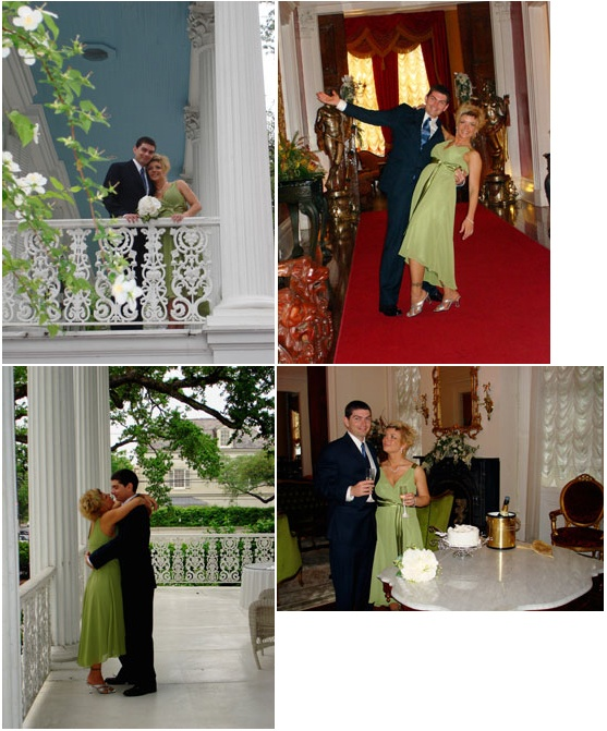 New Orleans Mansion Elopement Vow Renewal Packages Wedding Reception Venue