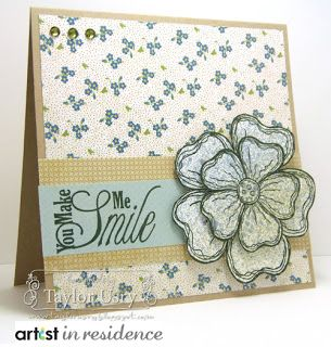 The Quiet Moments: You Make Me Smile @Shari Brown Snider Crafts #crafterscompanion