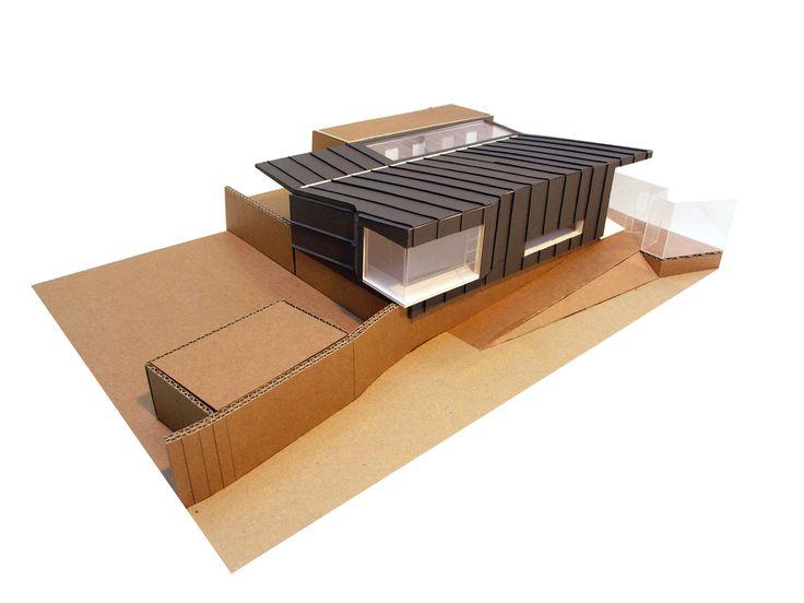 School model- zinc cladding Charles Barclay Architects http://cbarchitects.co.uk