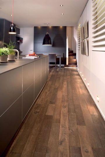 Revêtement sol cuisine : 19 modèles de sols pour une cuisine au top - CôtéMaison.fr
