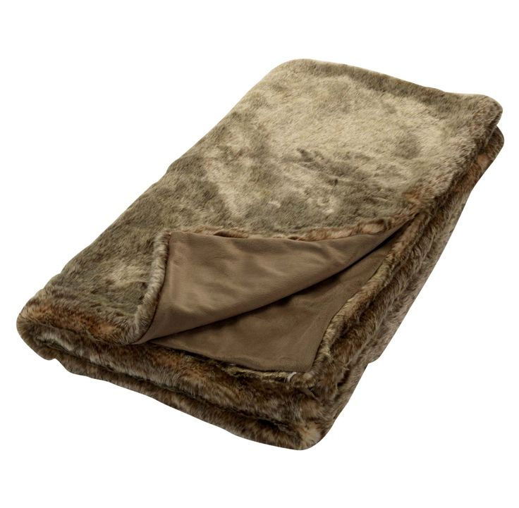 Cuddle up with this velvety-soft faux fur throw. Priced at £30.