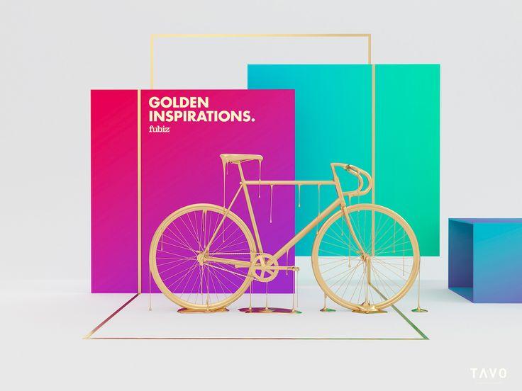 GOLDEN INSPIRATIONS. on Behance