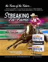 A WINNER AT EVERY LEVEL -  Fancy streak ta fame 6th at OKC BFA world championship futurity. NOW PRE BOOKING FOR 2017. Early booking discounts,return client discount. Email us for stallion fee pricing on your good mare.  WATCH VIDEO- The American Rodeo Finals - RFD-TV round top 4 qualifier at dallas cowboy stadium!  Streaking ta fame was the only stallion to punch his ticket to the finals for The american rodeo televised on March 1st 2015, he was the only qualifier to make the final top four…