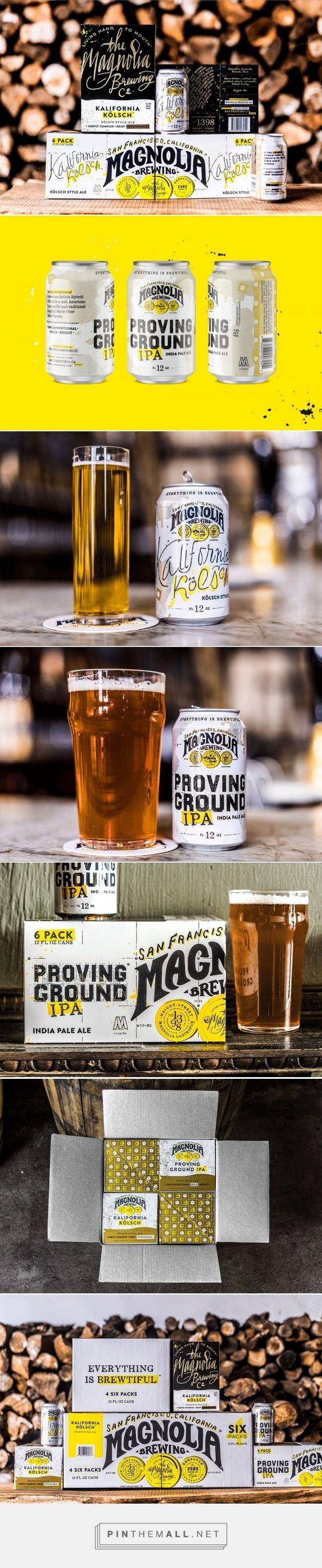 Magnolia Brewing Co. Branding and Packaging by Gamut | Fivestar Branding Agency – Design and Branding Agency & Curated Inspiration Gallery