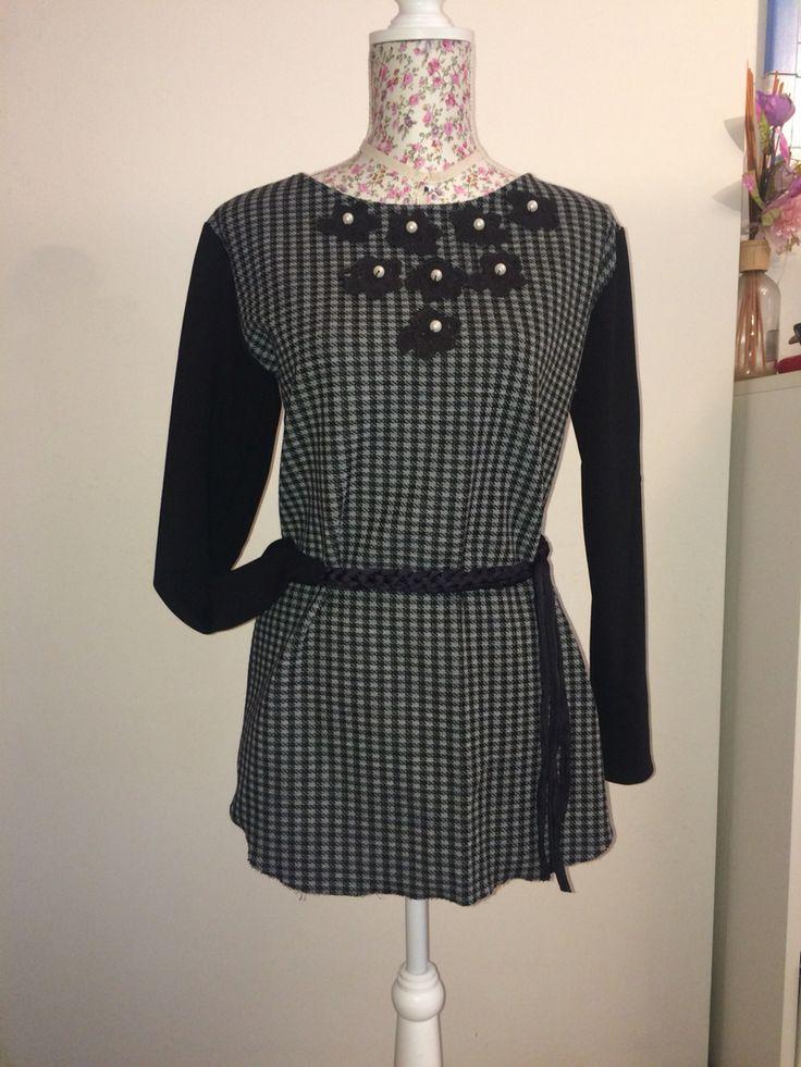 Mini dress handmade #martafe'