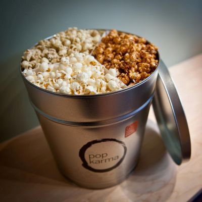 NYC's dedicated gourmet popcorn store really pops out the flavor! Get a tin combining sweet (caramel) and savory (cheddar) for a surprisingly tasty mix. Cajun, white truffle cheddar and a Kyoto-style mix with seaweed and miso are also tasty ways to enjoy a light crunch.