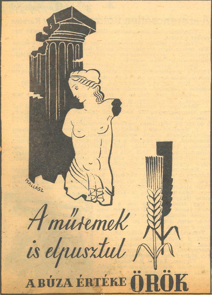 A műremek is elpusztul_Mallász Gitta_plakát_ Film Színház Irodalom_1943