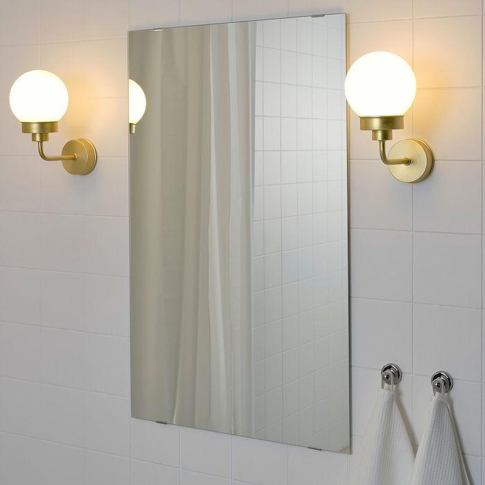 Frihult Brass Colour Wall Lamp Ikea Luminaire Salle De Bain Salle De Bain Art Deco Eclairage Salle De Bain