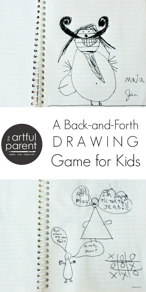 a back and forth drawing game for kids - Drawing Games For Toddlers