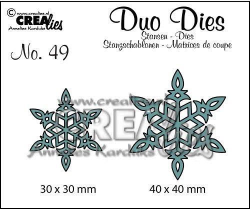 Duo Dies no. 49, Sneeuwvlok 6 / Snowflake 6