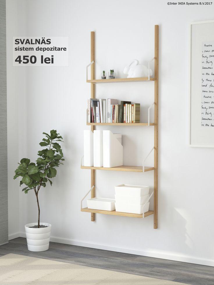 Cu soluții de depozitare spațioase fiecare lucru își are locul. În plus, te pot ajuta să găsești ce cauți mai ușor.