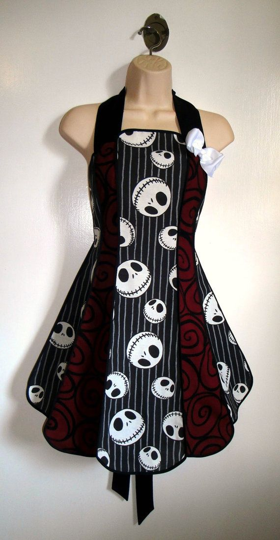 Vintage inspired Nightmare Before Christmas by XOSkeletonCreations