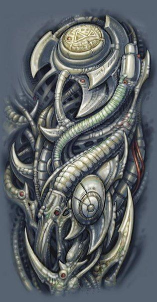 biomechanical armor - photo #20