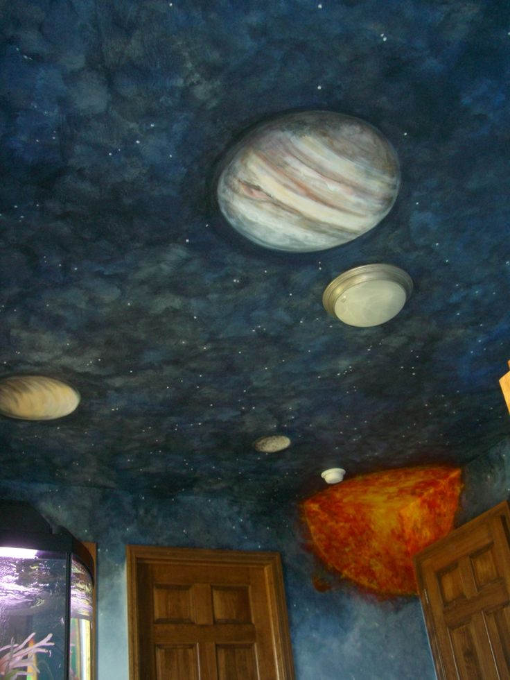 solar system on ceiling paint - photo #16