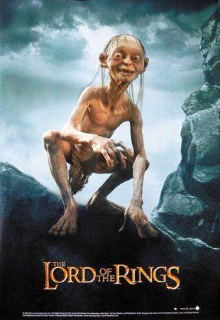 Władca Pierścieni Golum - plakat