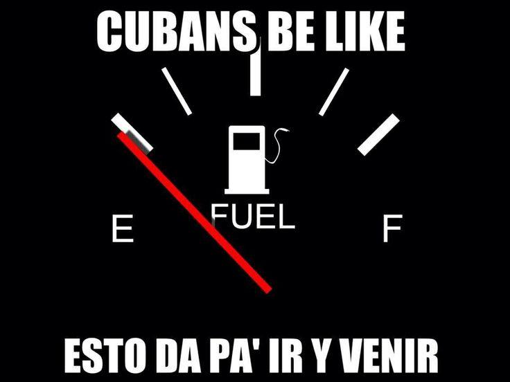 Y seguramente dió !! Jaja Cubans be like .