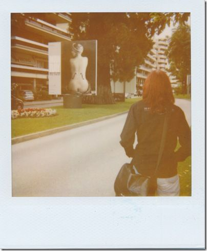 Man Ray - Hommage    Kamera: Polaroid ONE600   Film: Polaroid 600 instant film (expired 2007)