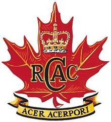 Royal canadian army cadets (RCACC)
