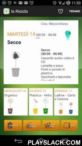 Io Riciclo  Android App - playslack.com ,  Il Calendario Nazionale della Raccolta Differenziata sul tuo SmartPhone.IoRiciclo permette un veloce accesso alle informazioni giornaliere del riciclo dei comune Italiani che aderiscono all'iniziativa.Come funziona il servizio IoRiciclo - Il comune o il gestore che utilizzano questo servizio potranno configurare il calendario della raccolta in funzione delle zone di raccolta e dei giorni dedicati alle categorie di rifiuti da differenziare. - Il…