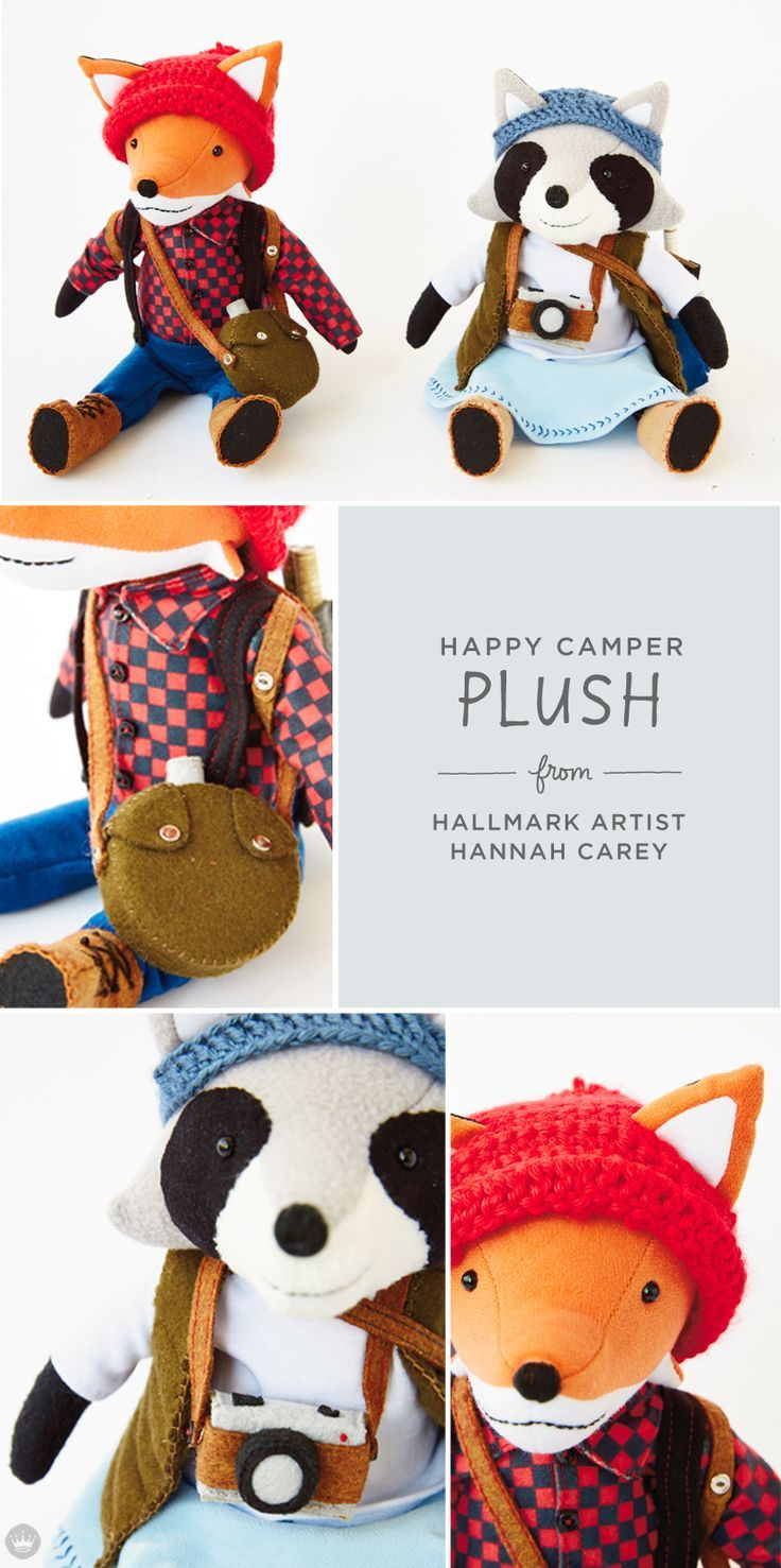 Artist-inspired Plush Collections from Hallmark | http://thinkmakeshareblog.com