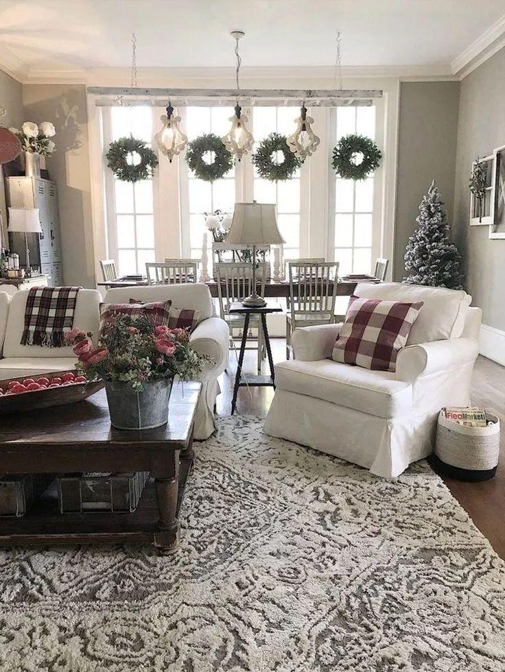 ✔ 78 rustikale Bauernwohnzimmer-Design- und Dekorationsideen für Ihr Zuhause 34