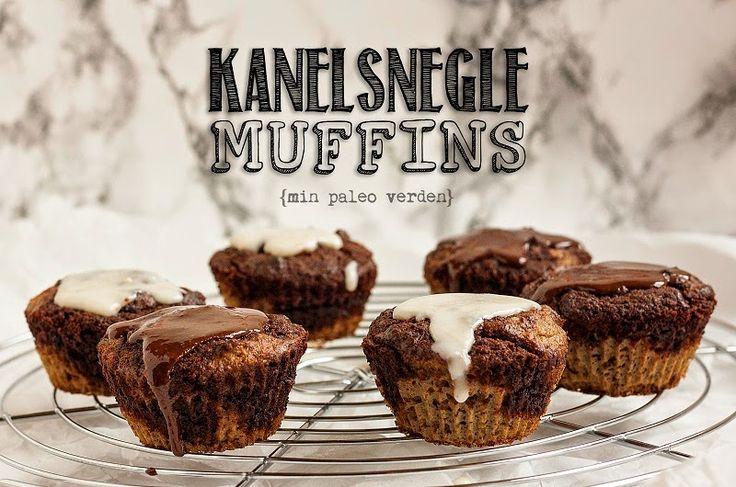 Min paleo verden: Kanelsnegle muffins