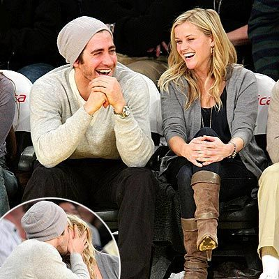 Jake Gyllenhaal & Reese Witherspoon - I'm very happy for her and Jim Toth now but I SOOO loved these 2 together!